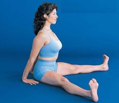 Seated Straddle Yoga For Menstruation: Yoga for Overall Healthy Life