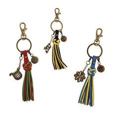 #Sorority Tassel Key Fob #Greek #Accessories #Gifts #CollegeEssentials #KeyChain #Fringe #BackToSchool