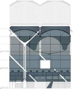 Barajas Airport - Facade Elevation