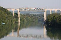 Rhein-Brücke zwischen Eglisau und Hüntwangen-Wil