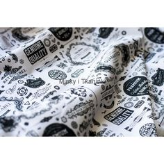 Retro Label Minky i Tkaninki