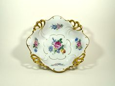 Vintage Fruit Bowls Porcelain Bowl China Bowls by DKVINTAGEGALLERY