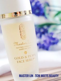 Gold Face Serum Master Lin Natural Cosmetic Brand  TCM meets Beauty