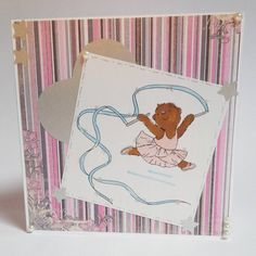 Commissioned greeting card, with a cute dancing bear :-) Have a nice day  #greetingcard #greeting #dancing #bear #cardmaking #card #handmade #papercraft #craft #paperartist #birthday #amazing #amazingpaper #igers #photooftheday #instagood #instadaily