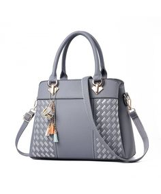 50c0245e069b Womens Purses and Handbags Ladies Designer Satchel Tote Bag Shoulder Bags -  Gray - CJ188YIOSXA