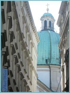 Photo Wien by RLeeb, View of Peterskirche, Vienna