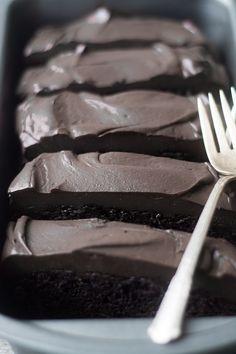 Death By Chocolate Zucchini Cake --- a decadently rich chocolate zucchini cake…