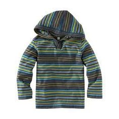 Cute Peli Stripe Hoodie $30.00 @Tea Collection #hoodie