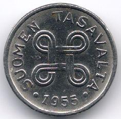 Finland 1 Markka 1955 op eBid België