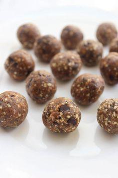 Healthy Summer Recipes, Healthy Crockpot Recipes, Healthy Snacks, Paleo Energy Balls, Yogi Food, Recipe For 2, Snacks Sains, Healthy Lifestyle Tips, Peanut Butter