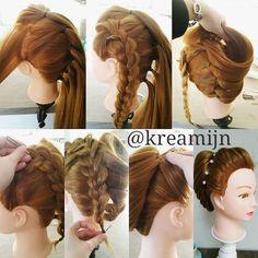 hairstyle by kreamijn #km_elegantupdo