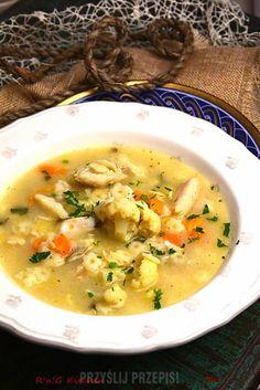 Zupa rybna z sandacza