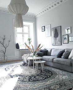 Gorgeous gray living room