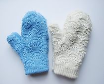 Ravelry: Cloud Mittens pattern by Sari Nordlund