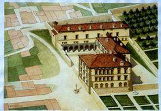 F. Martinuzzi, Serlio à Roussillon, 30x40, 2001.