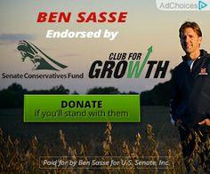 Ben Sasse for U.S. Senate online ads. Feb. 2014.