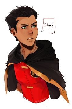 Okay, Damian Wayne is incredibly attractive