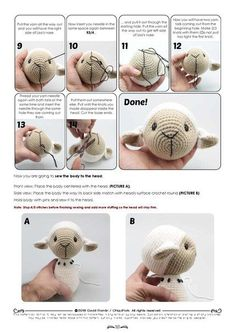 Buttercup Lamb curtain tieback crochet PATTERN right or - SalvabraniCuddly sheep amigurumi crochet pattern by Kristi Tullus My mom loved sheep and she would love this one!best 25 crochet bunny ideas on crochet bunnyImage gallery – Page 386535580492 Bunny Crochet, Crochet Mouse, Crochet Teddy, Crochet Doll Pattern, Crochet Patterns Amigurumi, Cute Crochet, Crochet Animals, Crochet Dolls, Amigurumi Toys