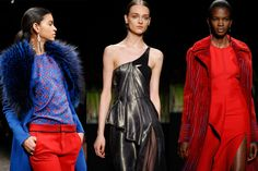 Designers at New York Fashion Week harkened back to the '40s, '70s, and '80s. What lies behind fashion's endless nostalgia fix?