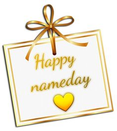 Happy Name Day, Wish, Happy Birthday, Names, Drink, Humor, Christmas Ornaments, Sayings, Holiday Decor