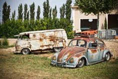Volky (husband and mom memories) Vw Volkswagen, Volkswagen Bus, Vw Rat Rod, Rat Look, Day Van, Used Cars, Cool Cars, Antique Cars, Porsche