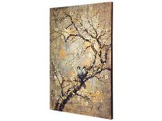Song Birds On A Branch Canvas Print
