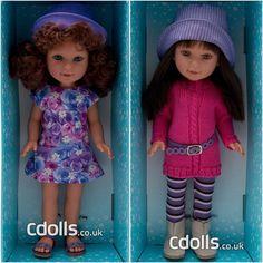 Vestida de Azul Paulina dolls Crochet Hats, Fashion, Blue Nails, Knitting Hats, Moda, Fashion Styles, Fashion Illustrations, Fashion Models