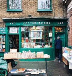 "bookmania: ""Foster's Bookshop in London (via @liolaliola on Instagram) """
