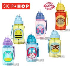 SKIP HOP Zoo Straw Bottle - HALOMAMA.com