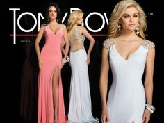 Tony Bowls Evenings at Memories! A great classic dress with stunning back!