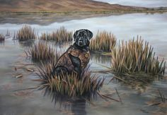Hunting Drawings, Dog Prints, Life Is Good, Batman, Superhero, Dogs, Painting, Fictional Characters, Art