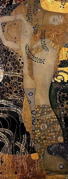 'Water Serpents'. Gustav Klimt.