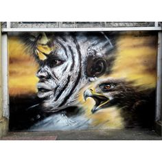 Dale Grimshaw @dale_grimshaw The latest piece in Walthamstow in full. Is part of the Wood St Walls project so big thanks to them. #dalegrimshaw #urbanart #art_realistic #art_motive #graffiti #graffitiart 5/14/15