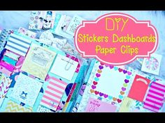 Belinda Selene: DIY Planner Supplies: Stickers, Paper Clilps, and Erin Condren Dashboard Goals Planner, Happy Planner, Planner Ideas, Printable Planner, Planner Stickers, Diy Stickers, Printables, Planer Organisation, Organization Ideas