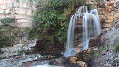 Cachoeira das Andorinhas, Parque Estadual Serra Nova, Porteirinha, Minas Gerais