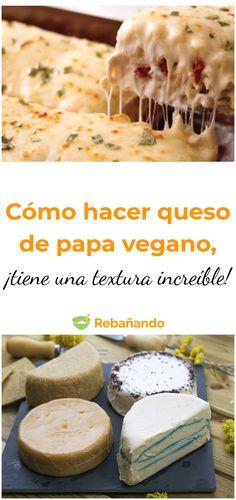 Homemade Vegan Cheese Recipe, Best Vegan Cheese, Vegan Cheese Recipes, Vegan Mexican Recipes, Vegan Sauces, Good Healthy Recipes, Vegan Desserts, Vegan Milk, Raw Vegan