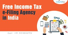 Simplify Tax is one of the best Free Income Tax Consultant & efiling Agency in Delhi, India for Income Tax e-filing, GST Returns, GST Registration. Call for any enquiry Goods And Service Tax, Goods And Services, Income Tax Return, India, Business, Free, Goa India, Store, Indie