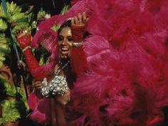 Mangulera Samba Dancer, Rio Carnaval Rio de Janiero, Brazil Photographic Print
