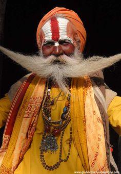 Sadhus (holy man), at the Bagmati River, Pashupatinath, Kathmandu Valley, NEPAL