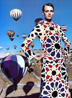Jacquetta Wheeler by Greg Kadel for Harper's Bazaar US February 2002