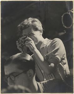 Gerda Taro in Spain, July 1937
