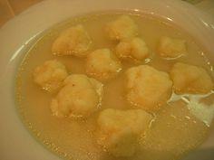 Gnocchi di Gries (dumpling soup)