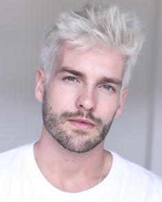 12 Good Looking Thick Hairstyles Pretty Followme Lastminutestylist 50s Mens Hair Long Hair In 2020 White Hair Men Silver Hair Men Platinum Blonde Hair