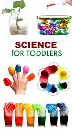 Science for Kids 30 science experiments perfect for young kids Science Experiments Kids, Science Activities, Science Projects, Activities For Kids, Young Toddler Activities, Craft Projects, Craft Ideas, Toddler Learning, Preschool Learning