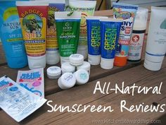 Natural Sunscreen Review: The Best All Natural Zinc Oxide Sunblock  | Kitchen Stewardship | A Baby Steps Approach to Balanced Nutrition