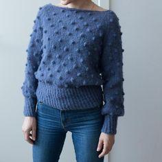 pop de luxe - paelas adult popcorn sweater (norwegian and english)