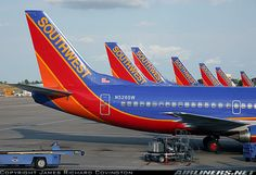 Southwest Airlines tails