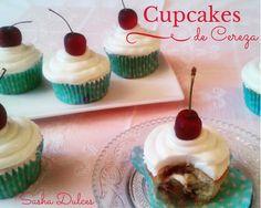 Cupcakes de Cereza sashabakery.blogspot.com