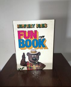 $15   Vintage 1972 Humphrey Bear's Fun Book - Thing to Make and Do / Published by Octopus Books / Children's Television / Great Condition by V1NTA6EJO