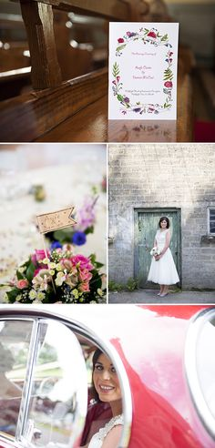 Irish Wedding At The Millhouse In Slane, Co.Meath With A Justin Alexander Dress And Pink Rose Bouquet And An Ice-Cream Truck With Photography By Julie Cummins._0001